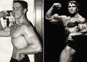 Arnold-Schwarzenegger before and after